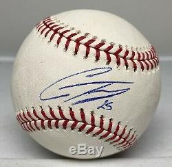 Gleyber Torres Signé Balle De Baseball Autographiée Auto Psa / Adn Coa Ny Yankees