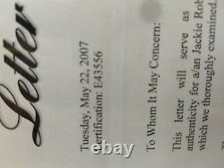 Jackie Robinson Autograph Cut Signature Psa/dna Certifié Strong Sig, Bold