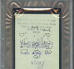 Jan 1968 Bruce Lee First Western Bank Auto Signé Chèque Personnel Psa/dna Rare