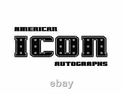 Jim Neidhart Bret & Jimmy Hart Foundation Signé 8x10 Photo Psa/adn Coa Wwe Wwf