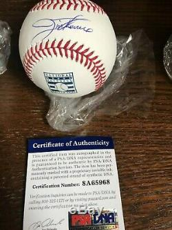 Jim Thome Autographié Hall Of Fame Officiel Major League Baseball Psa / Adn