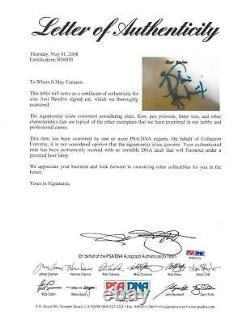 Jimi Hendrix Signature Authentique Autographié 4x6 Cut Signature Psa / Dna # H56070