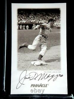Joe Dimaggio Autographié Signé Psa/dna Certifié 1993 Carte Pinnacle #3 Auto