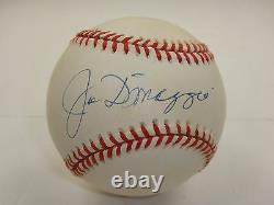 Joe Dimaggio Psa/dna Certifié Rawlings Officiel Al Baseball Autographié