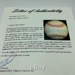 Joe Dimaggio Signé Autographié Officiel De La Ligue Américaine De Baseball Psa Adn Coa