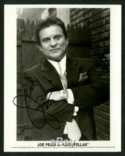 Joe Pesci Goodfellas Autographié 8 X Signé 10 Photo Psa Adn Iconic Film