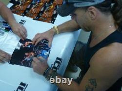 Kevin Nash Diesel Et Shawn Michaels Ont Signé Auto'd Wwe Wwf 8x10 Photo Psa/adn Coa