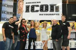 King Kong Bundy & Hulk Hogan Signé Wwe 8x10 Photo Psa/adn Coa Wrestlemania II 2