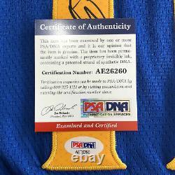 Klay Thompson A Signé Le Maillot Psa/dna Golden State Warriors Autographié