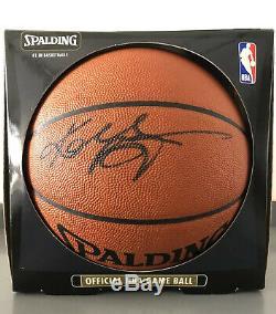 Kobe Bryant La Lakers Authentique Autographié Nba Jeu De Basket-ball Big Psa / Adn Coa