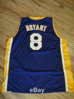 Kobe Bryant Psa / Certifié Adn Signé Los Angeles Lakers Jersey Autographié Monnaie