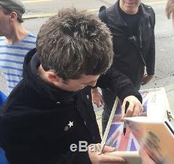 L'ampli Britannique Signé Oasis Autographié Par Noel Gallagher Est L'un Des Joyaux De La Preuve Psa / Adn