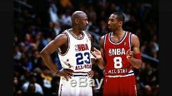 Lakers Kobe Bryant Auto 2003 Nba All Star Game Cut Pro Jersey Signé Psa / Adn Pe
