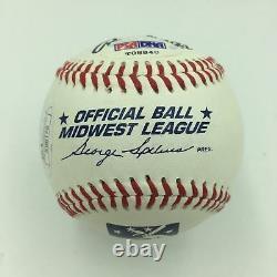 Le Président Barack Obama A Signé L'adn De Baseball Autographié Psa & Jsa Loa