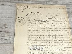 Le Roi Louis Xviii, 1778 Document Signé, Psa / Adn Assermentée