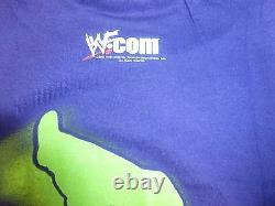 Lita Signé Original 2001 Wwf Shirt Psa / Dna Coa Wwe Pro Wrestling Diva Autograph