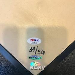Magnifique Ken Griffey Jr. 56 Circuits À Domicile Plaque Pleine Taille Signée Psa Dna Uda