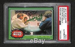 Mark Hamill Luke Skywalker 1977 Carte Psad / Adn Autographiée Et Signée Par Star Wars