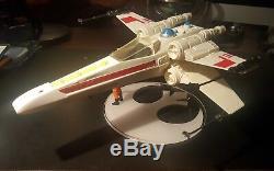 Mark Hamill Signé Vintage Star Wars X-wing Figure Autographié Authentique Psa / Adn