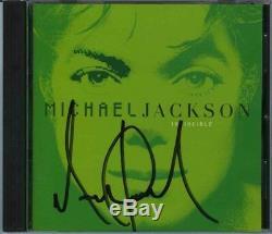 Michael Jackson CD Autographié Authentique Signé Psa / Adn Autographié