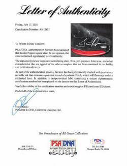 Michael Jordan Scottie Pippen Signé Paire Air Jordan XVII Le Psa/dna