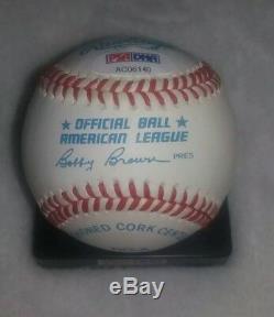Mickey Mantle Autographié Au Baseball-psa / Dna-rare, Inscription N ° 7! Salut Grade
