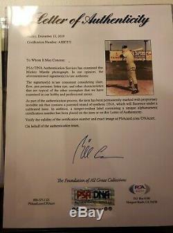 Mickey Mantle Signé 8x10 Photo Dédicacée Auto Psa / Adn Loa Ny Yankees Hof