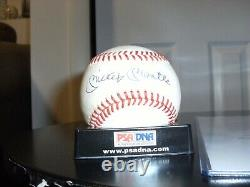 Mickey Mantle Signé Oal Bobby Brown Baseball Loa Dna Psa Autographié Yankees