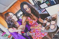 Nikki The Bella Twins Photo Shoot Wwe Signé Tablier Usé Anneau De Diva Psa / Adn