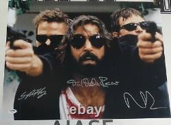 Norman Reedus Sean Patrick Flanery +1 Signé Boondock Saints 16x20 Photo Psa/adn