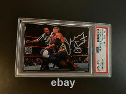 Owen Hart Signed Autograph Insert Card Topps Wwf Wwe Wrestling Auto Psa/dna
