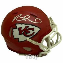 Patrick Mahomes Autographié Kansas City Chiefs Football Mini Casque Psa Adn Coa