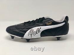 Pelé Autographié Puma Soccer Cleat Brésil Signé Psa Dna Coa