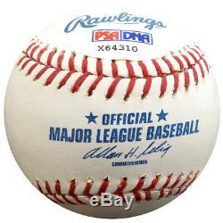 Pete Rose Autographié Signé Lmb Baseball Reds Charlie Hustle Psa / Adn 59084