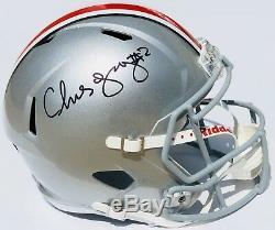 Psa / Dna Ohio State # 2 Chase Young Signé Autographié Speed Casque De Football Bucks