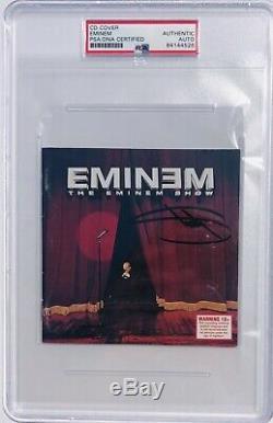 Psa / Dna Real Slim Shady Eminem Autographié Et Signé Le CD Eminem Show