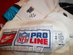 Psa / Dna Reggie White Carolina Panthers Pantalon Vintage Signé Et Autographié