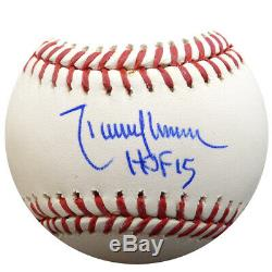 Randy Johnson Autographié Signé Lmb Baseball Mariners Hof 15 Psa / Adn 86900