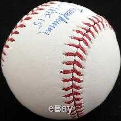 Randy Johnson Autographié Signé Mlb Baseball Mariners Hof 15 Psa / Adn Y31302