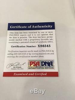 Rare 1997 Mark Mcgwire Signé Autographié Al Baseball Inscribed # 25 Un Adn De Psa