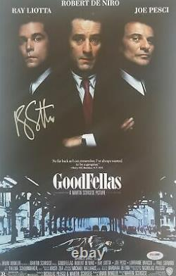 Ray Liotta Signé Goodfellas 11x17 Poster Photo Psa / Adn Coa Autographed