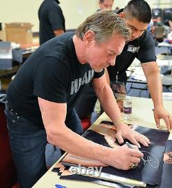 Ric Flair & Rowdy Roddy Piper Signé 16x20 Photo Psa/adn Coa Nwa Wwe Autographe