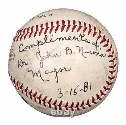 Roberto Clemente Single Signé Autographié Baseball Psa Adn Coa