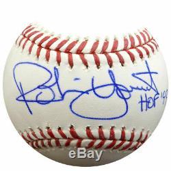 Robin Yount Autographié Signé Lmb Baseball Brewers Hof 99 Psa / Adn 107003