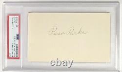 Rosa Parks Signé 3x5 Coupe Psa/adn Auto CIVIL Rights Movement / Bus Boycott Rare