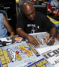 Royce Gracie Ken Shamrock Pat Smith 4 Signé Ufc 1 16x20 Photo Psa / Adn Poster