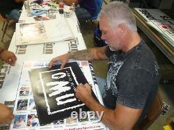 Scott Hall Et Kevin Nash Ont Signé Nwo 16x20 Photo Psa/adn Coa Wwe Wcw Les Étrangers