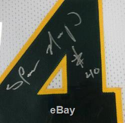 Seattle Sonics Shawn Kemp Autographié Signé Jersey Blanche Encadrée Psa / Adn 97706
