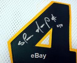 Seattle Sonics Shawn Kemp Autographié Signé Maillot Blanc Psa / Adn 55994