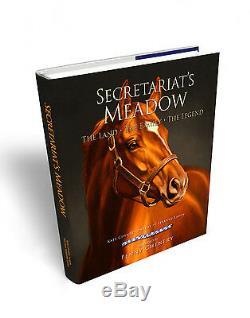 Secrétariat Print Memories Of Greatness Certifié Psa / Adn Autographié